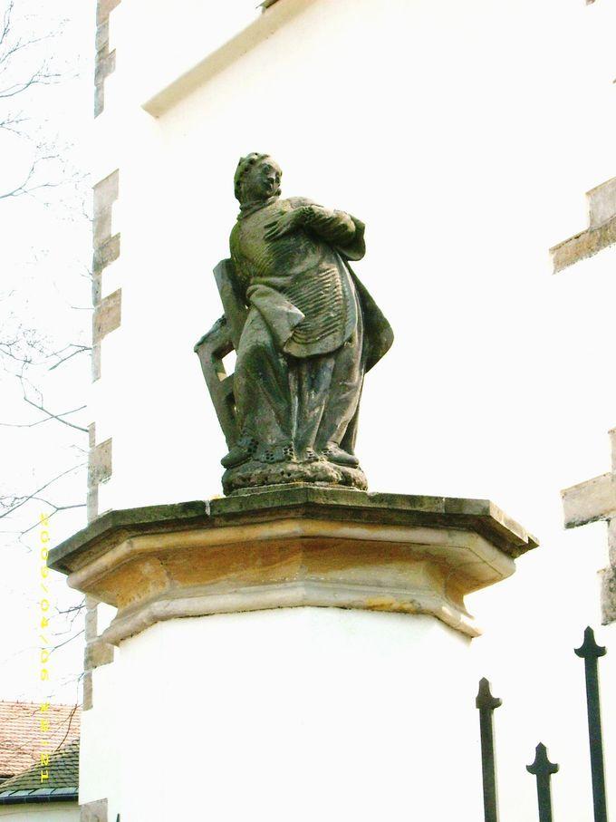 Socha Sv. Vavřince