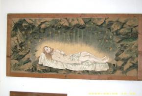 Obraz Kristus z Božího hrobu