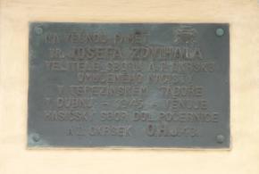 Pamětní deska br. J. Zdvihala