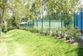 Zlepšení vzhledu tenisového areálu