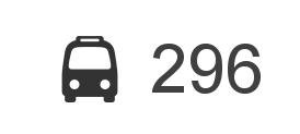 Změna jízdního řádu BUS 296