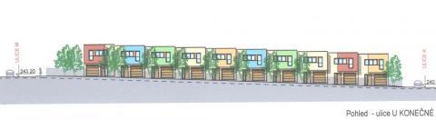 Nová výstavba RD v Dolních Počernicích