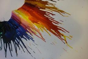 Výtvarný klub - Voskové pastely