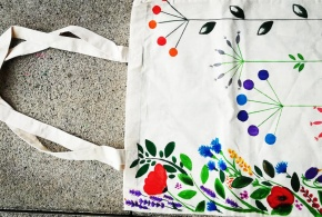 Workshop - Plátěná taška