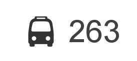 Změna jízdního řádu BUS 263 (od 27.8.2016)