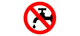 Oznámení o přerušení dodávky vody